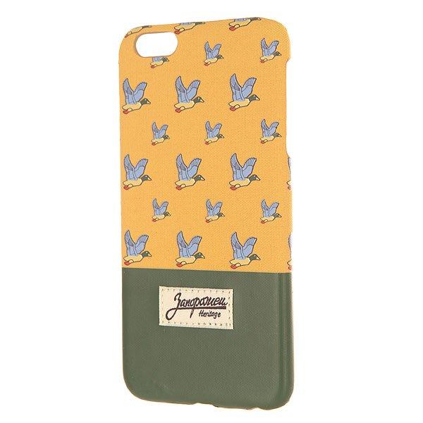 Чехол для iPhone 6 Plus Запорожец Дичь Beige/Green