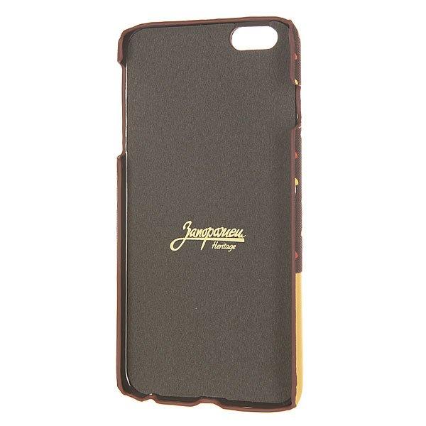 Чехол для iPhone 6 Plus Запорожец Грибочки Brown/Sand