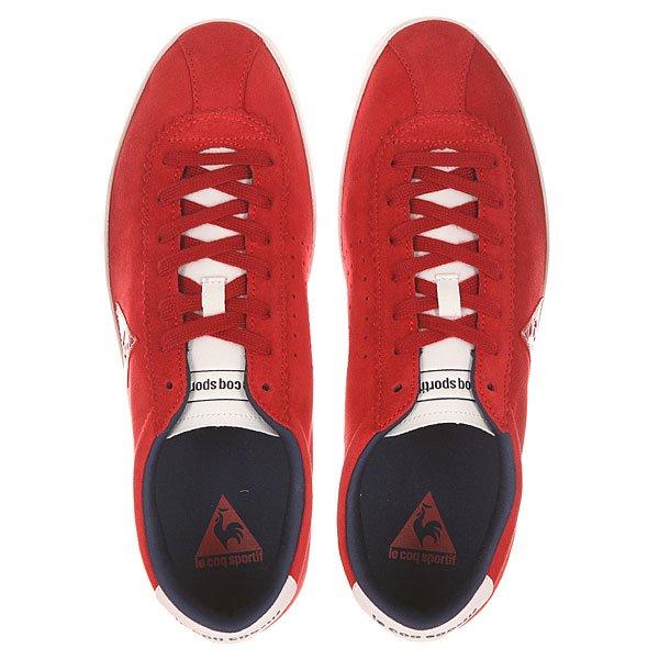 Кеды низкие Le Coq Sportif Court Origin Suede Vintage Red