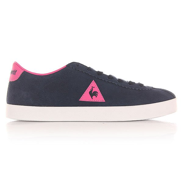 Кеды низкие женские Le Coq Sportif Court Origin Suede Dress Blue/Ibis Ros