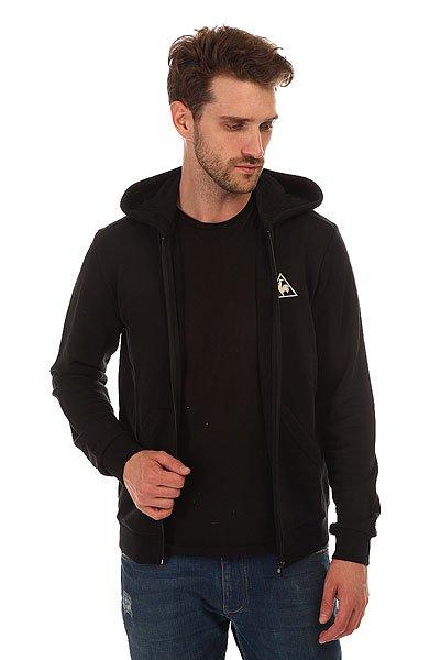 Толстовка классическая Le Coq Sportif Ailier Fz Hood Black