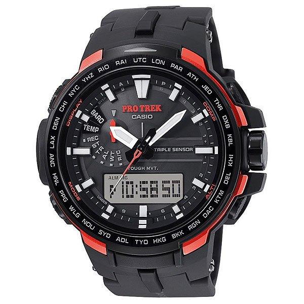 Кварцевые часы Casio Sport PRW-6100Y-1E Black