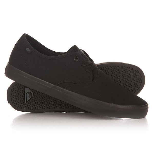 Кеды низкие Quiksilver Shorebreak M Shoe Sbkm Solid Black