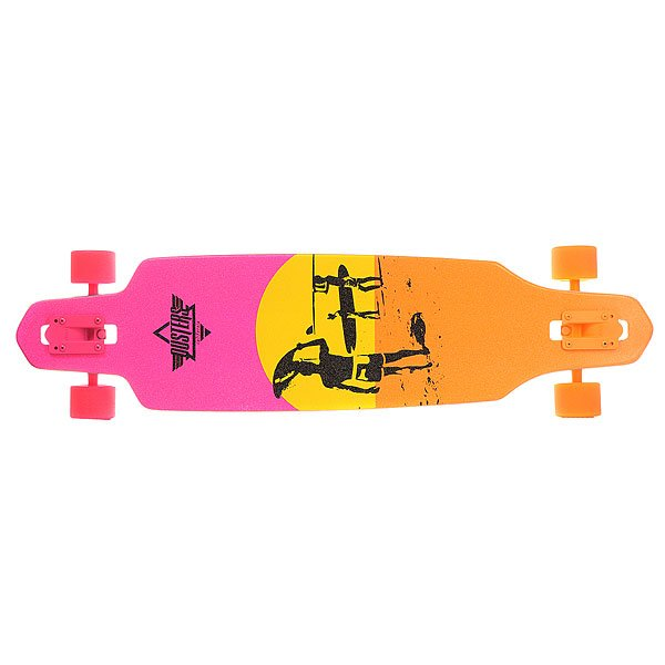 Лонгборд Dusters Endless Summer Wake Yellow/Orange/Pink 9.375 x 38 (96.5 см)