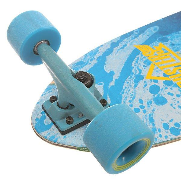Лонгборд Dusters Bio Longboard Blue/Yellow 9.5 x 38 (96.5 см)