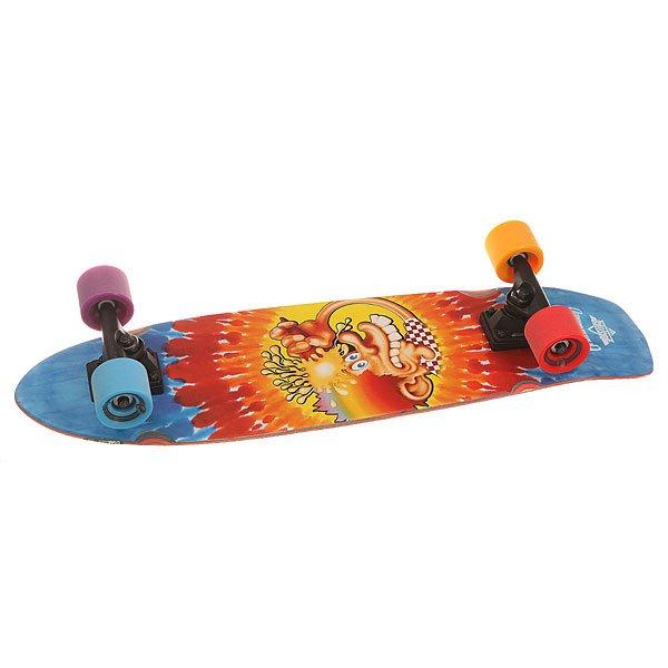 Скейт круизер Dusters Grateful Dead Ice Kid Cruiser Cream Tie Dye 8.25 x 31 (78.7 см)