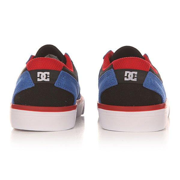 62ee8297cca9 Купить кеды низкие детские DC Argosy Vulc Royal Black Red ...