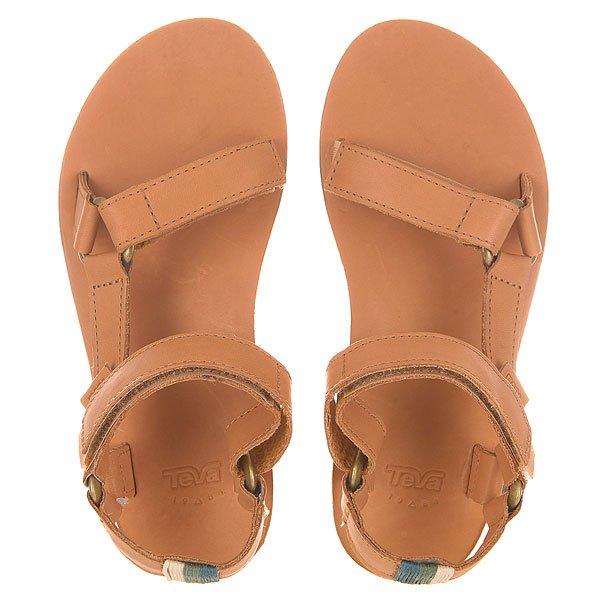 Сандалии женские Teva Flatform Universal Crafted Tan