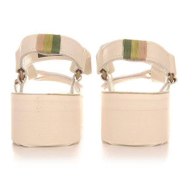 Сандалии женские Teva Flatform Universal Crafted White