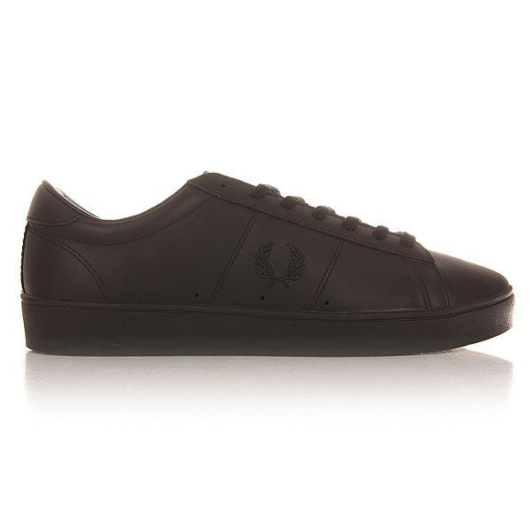 Кеды низкие Fred Perry Spencer Leather Black