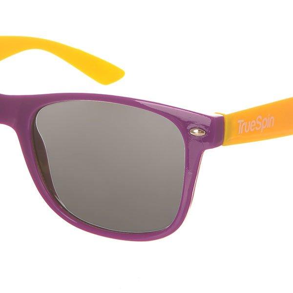 Очки TrueSpin Classic Purple/Yellow