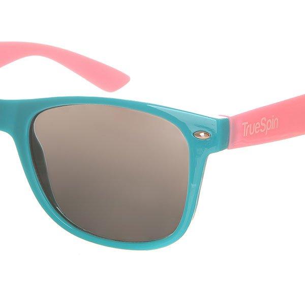 Очки TrueSpin Classic Turquoise/Pink