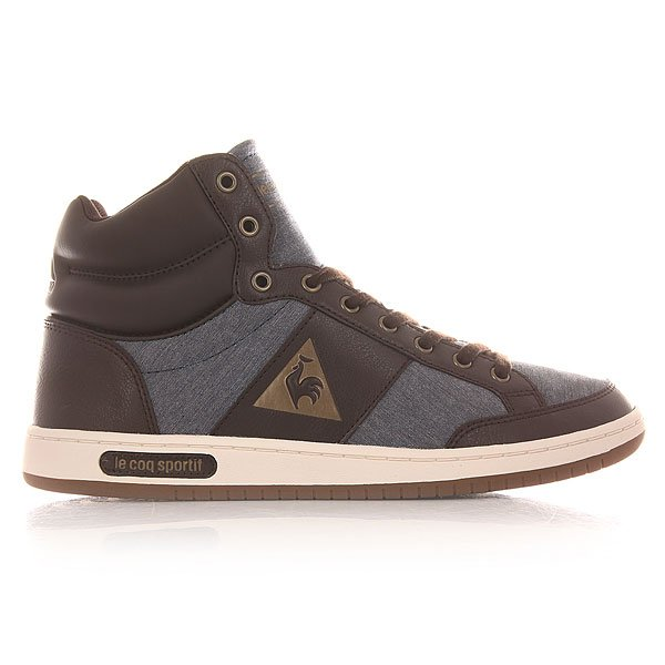 Кеды высокие Le Coq Sportif Prestige Court Mid Chambray Dress Blues