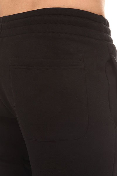Штаны спортивные Le Coq Sportif Pant Bar Slim Brushed Black