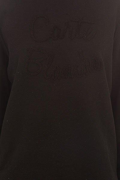 Толстовка классическая женская Le Coq Sportif Marilia Crew Sweat Black