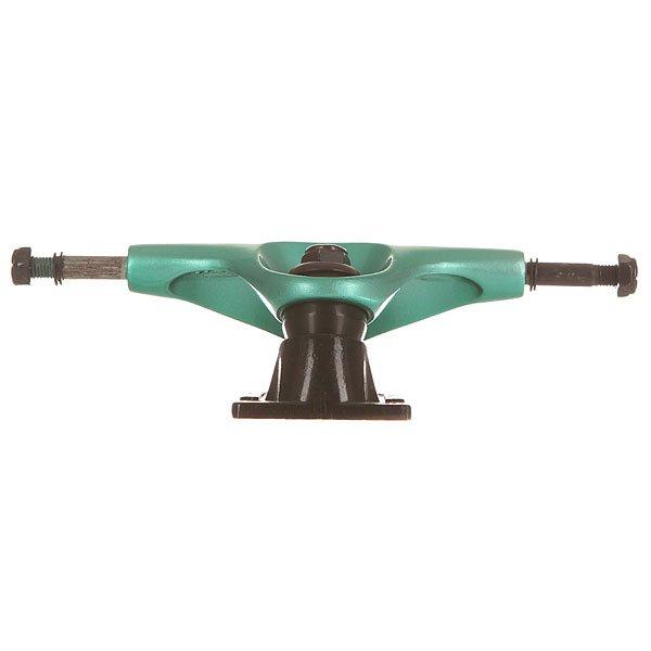 Подвеска для скейтборда Tensor Alum Lo Flick Black/Teal 5 (19.7 см)