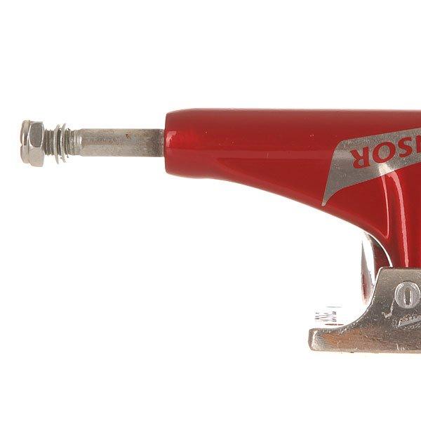 Подвеска для скейтборда Tensor Alum Reg Switch Red/Raw 5.25 (20.3 см)