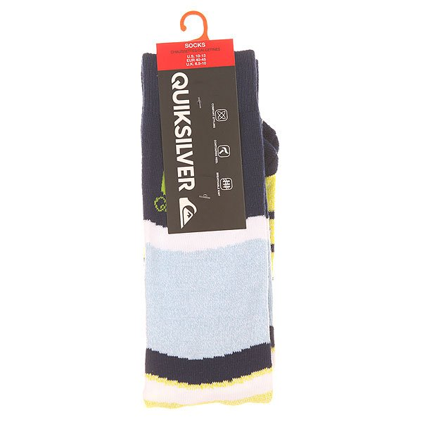 Носки средние Quiksilver Frontboarder Knitted Crew Sulphur Springs