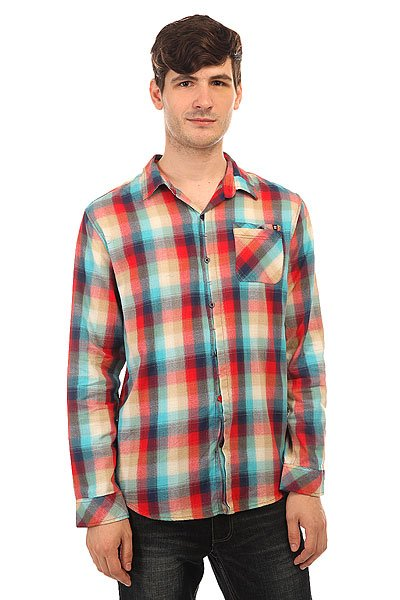 Рубашка в клетку Insight Dazed Deadbeet
