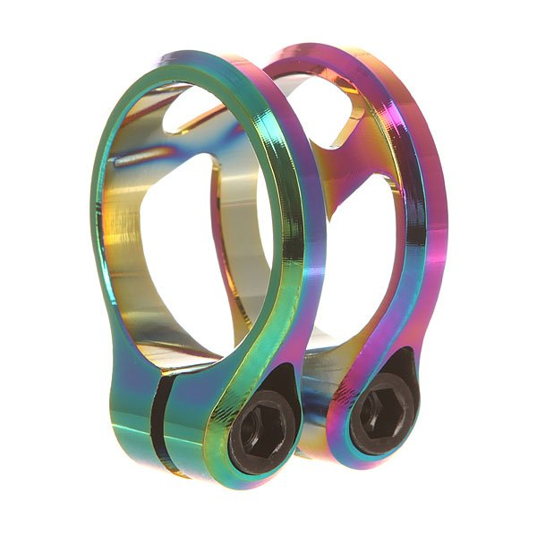 Зажимы Ethic Sylphe Clamp Double 34.9 Rainbow