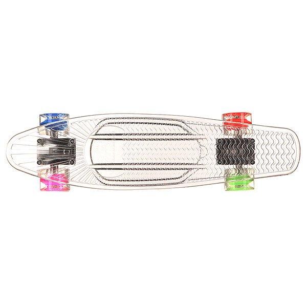 Скейт мини круизер Sunset Hippy Complete 22 Clear 5 x 22 (55.9 см)