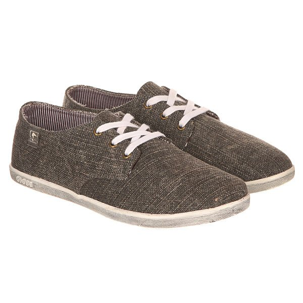 Кеды низкие Globe Espy Canvas Grey Washed
