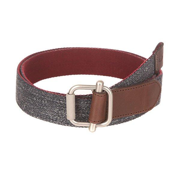 Ремень Fred Perry Herringbone Reversible Belt Grey/Bordo