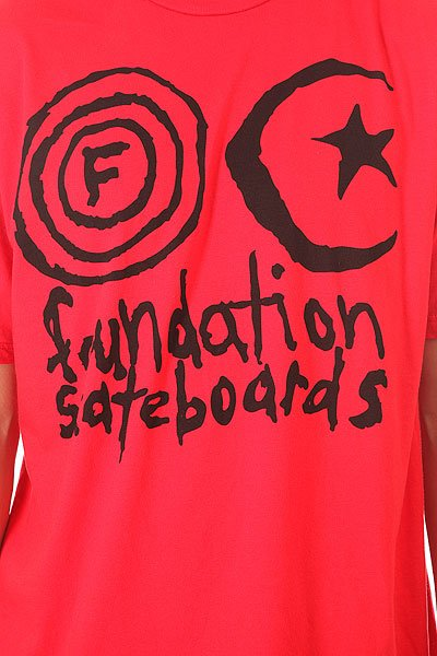 Футболка Foundation Franken Official Black/Red