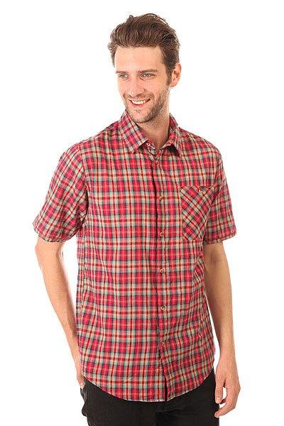 Рубашка в клетку Altamont Civen Woven Cardinal