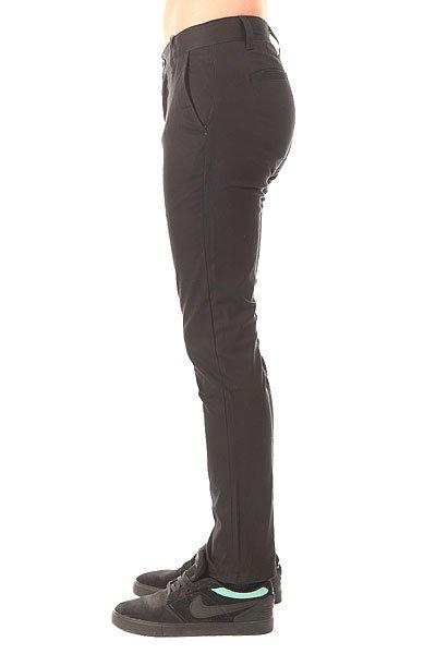 Штаны узкие Etnies E1 Slim Chino Black