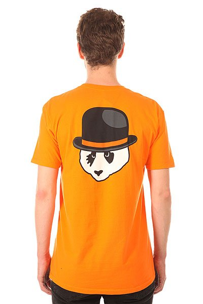 Футболка Enjoi Clockwork Panda Premium Orange