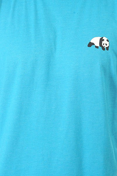 Футболка Enjoi Small Panda Logo Premium Turquoise