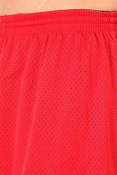 Шорты классические K1X Hardwood Big Hole Mesh Double Red