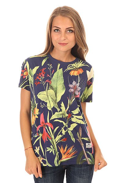 Футболка женская Penfield Wilson Botanical T Shirt Navy