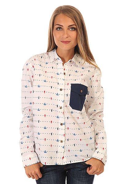 Рубашка женская Picture Organic Annie White