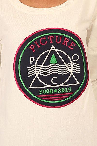 Толстовка свитшот женская Picture Organic Papete White
