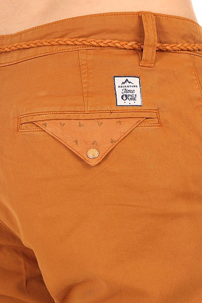 Штаны прямые Picture Organic Nopper Chino Pant Brown