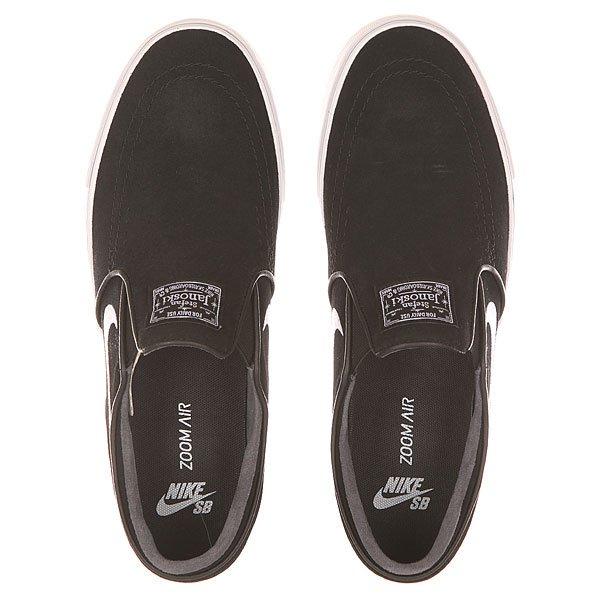 Слипоны Nike SB Zoom Stefan Janoski Slip Black/White
