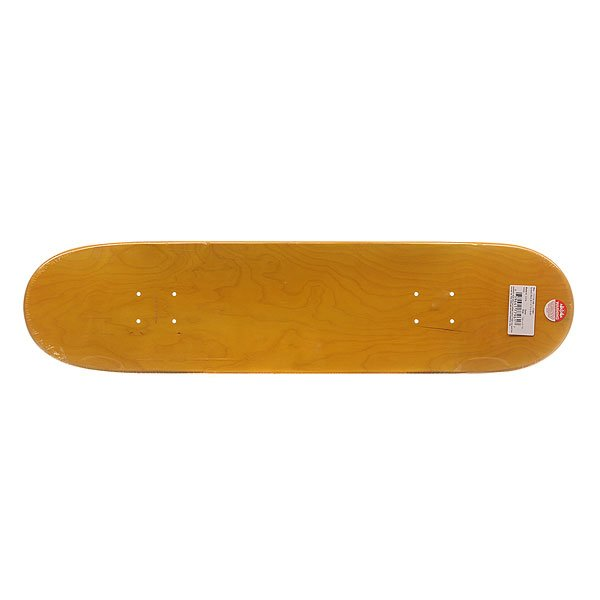 Дека для скейтборда Bullet S6 Sprayed Black 30.7 x 7.8 (19.8 см)