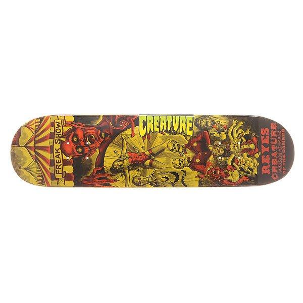 Дека для скейтборда Creature S6 Reyes Circus Of The Damned 31.6 x 8.0 (20.3 см)