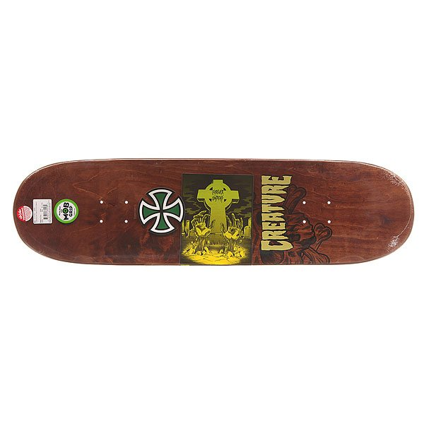 Дека для скейтборда Creature S6 Kimbel Shrunken Head 33 x 9.0 (22.9 см)