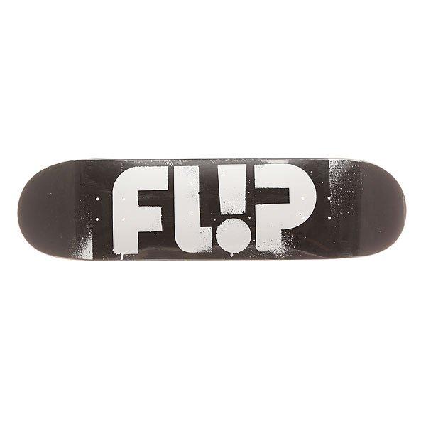 Дека для скейтборда Flip S6 Team Odyssey Stencil Black 32.31 x 8.25 (21 см)