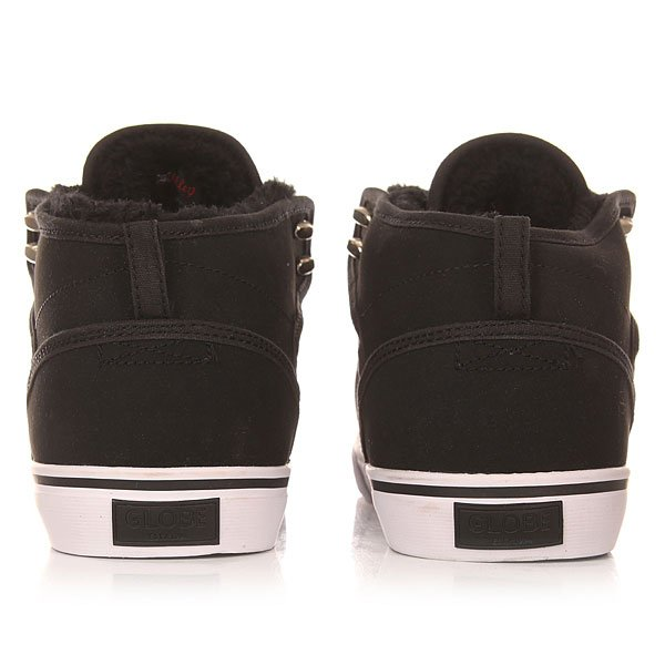 Кеды утепленные Globe Motley Mid Fur Black/White