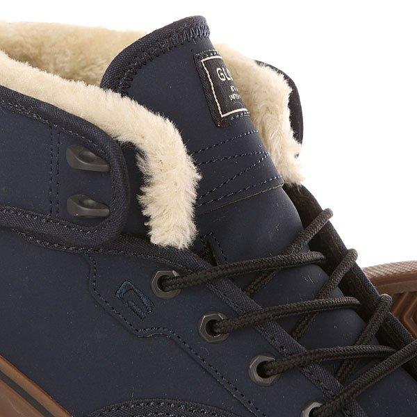 Кеды утепленные Globe Motley Mid Fur Navy/Ash