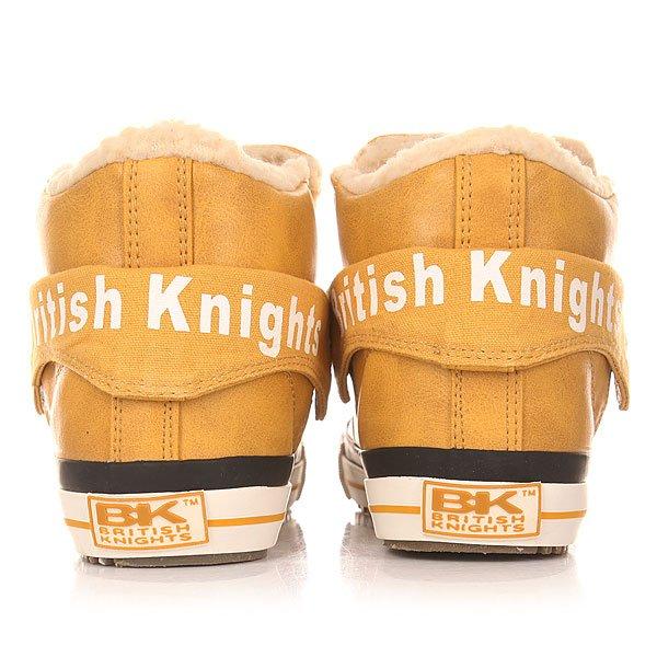 Кеды утепленные женские British Knights Roco Honey