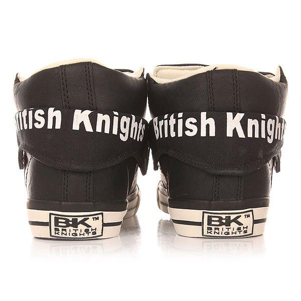 Кеды утепленные женские British Knights Roco Black/White