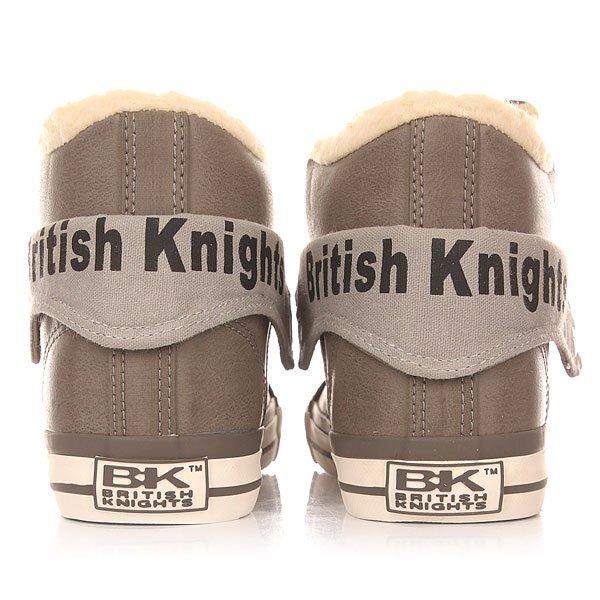 Кеды утепленные женские British Knights Roco Light Grey