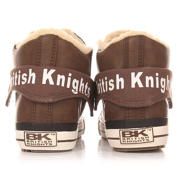 Кеды утепленные женские British Knights Roco Brown