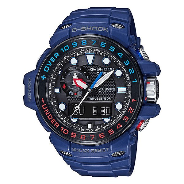 Электронные часы Casio G-Shock Premium Gwn-1000h-2a Denim/Black