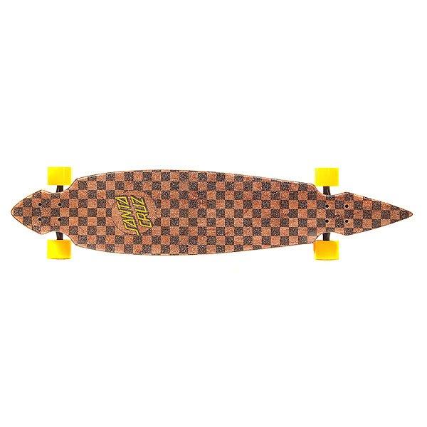 Лонгборд Santa Cruz S6 Cruzer Check Stain Pintail 9.35 x 43.59 (110.7 см)